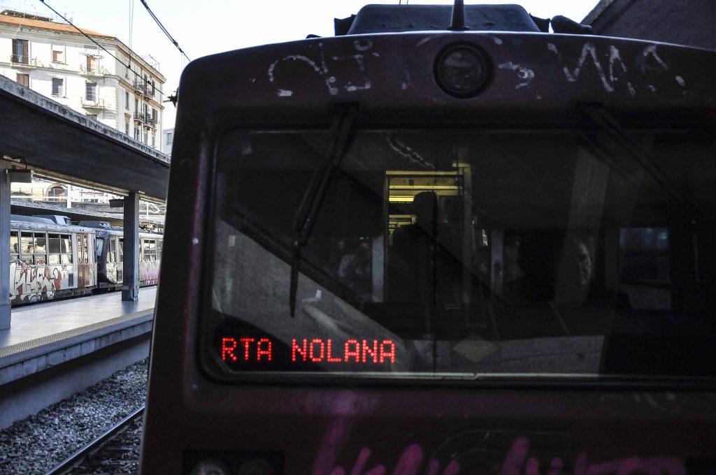 Napoli 24 Aprile 2017 - Stazione Circumvesuviana di Porta Nolana. Ph. Irene Angelino