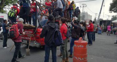 I volontari continuano ad arrivare la mattina del 20 settembre. Quertiere Obrera