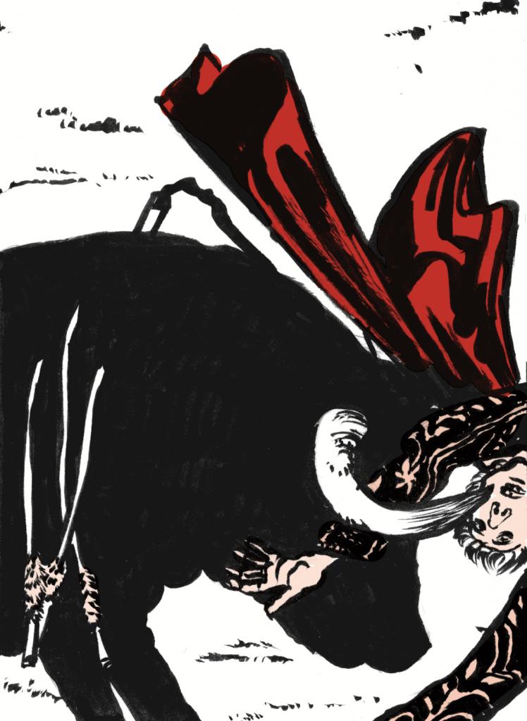 (disegno di miguel angel valdivia)