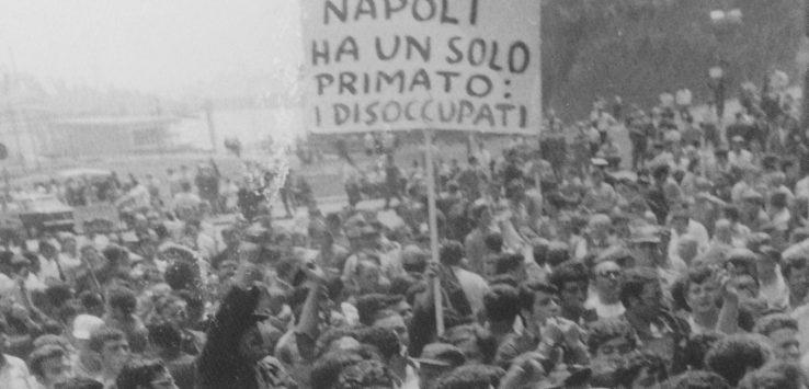 (sciopero dei portuali, maggio 1968 - foto ruggeri)