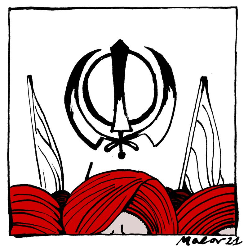 rivolte india contadini