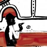 """(un disegno di cyop&kaf tratto dal documentario """"la fabbrica incerta"""")"""